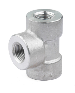 304/316 L High Pressure Stainless Steel Reduced Tee
