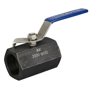 Hex-Carbon Steel Ball Valve