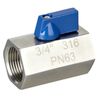 Stainless Steel Mini Ball Valve FF