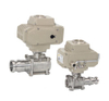 3PC Stainless Steel Quick Joint Female Thread Ball Valve With Pad