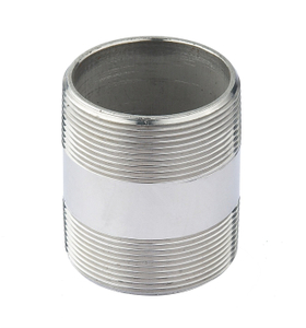 Stainless Steel Male Barrel Nipple