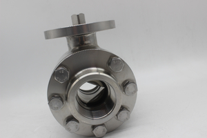 Forged Stainless Steel 304/316 3PC Ball Valve V-Type Ball