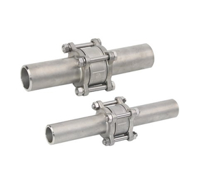 3PC Stainless Steel Vertical Butt Weld Check Valve