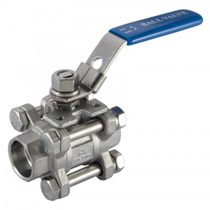 3PC Stainless Steel Socket Weld Ball Valve