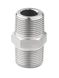 Stainless Steel 3000PSI High Pressure Hexagon Nipple