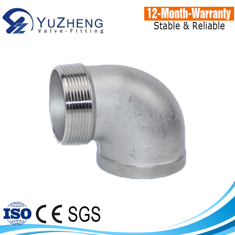 Stainless Steel Male and Female 90 Degree Elbow