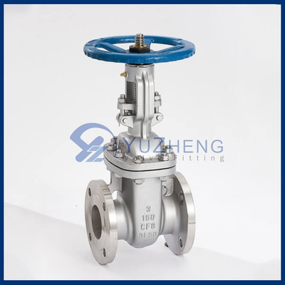 ANSI Flanged Stainless Steel Gate Valve