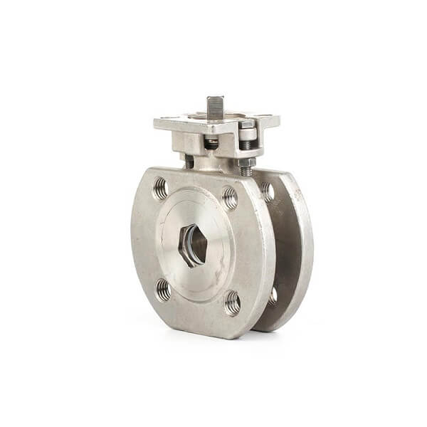 Stainless Steel Italy Wafer Type Ball Valve With ISO5211 PAD