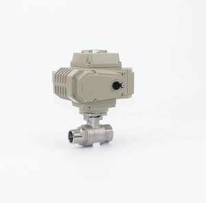 2PC Stainless Steel M&F Thread Ball Valve With Actuator