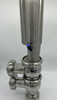 Pneumatic Stainless Steel Changeover Valve